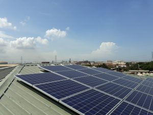 10 kWp solar system at Tema branch